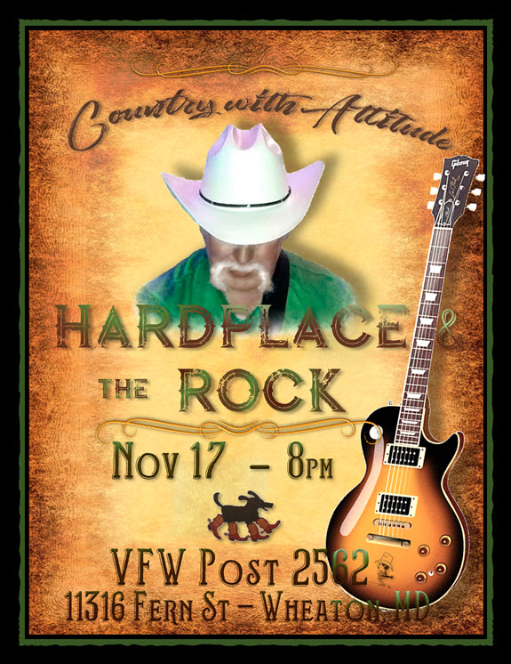 Hardplace and the Rock at Wheaton VFW November 17th, 2018