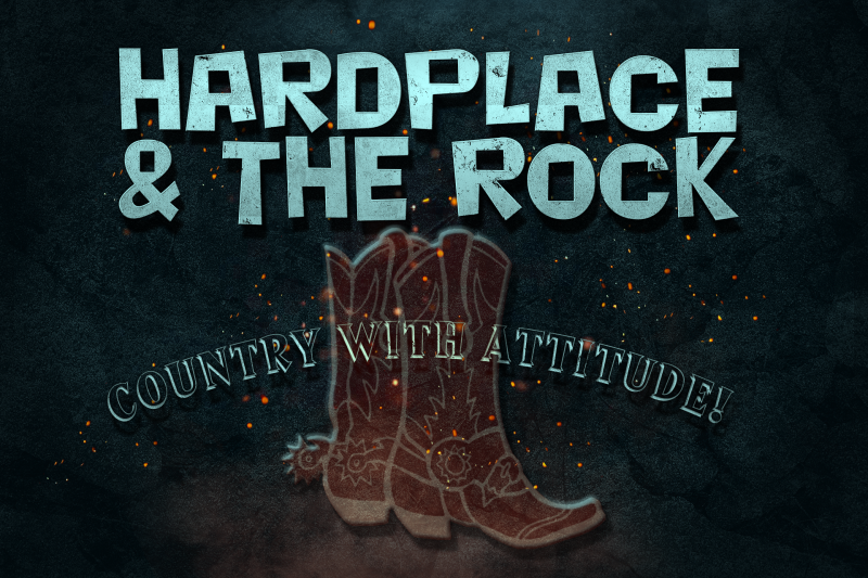 Hardplace and the Rock banner
